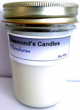 Desmond's Candles Homemade Scented Honduras (Berries & Cream) Soy Jar Candle