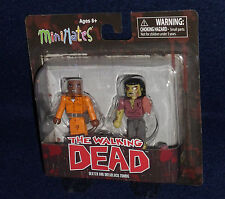 The Walking Dead MiniMates Series 3 DEXTER & DREADLOCK ZOMBIE Figure 2 PK