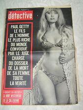 Détective 1972  TOULON BRUAY EN ARTOIS MERCUER ardeche