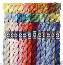 DMC Pearl Cotton Variation - Colors 4170-4265 - Size 5