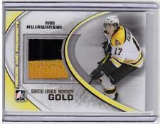 RYAN KUJAWINSKI 11/12 ITG Prospects Update Set GOLD /10 Jersey Rookie #M-51 SP
