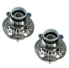 Pair Set 2 Rear Timken Wheel Bearing Hub Kit for Hyundai Azera Kia Sportage FWD