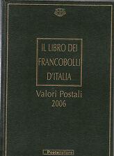 LIBRO UFFICIALE POSTE + FRANCOBOLLI BUCA LETTERE 2006 LIBRI ALBUM COMPLETI RARO