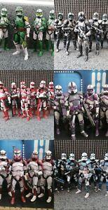 Star Wars The Black Series 6 Inch Clone Trooper Custom Figure Single Comission