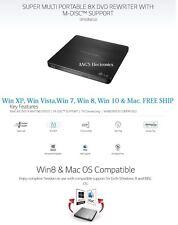 LG USB 2.0/3.0 Ultra Slim External DVDRW Drive CDRW CD DVD Burner Writer SP60