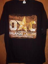 Orlando Calling 2011 black XL t shirt Bob Seger Kid Rock Blake Sheldon