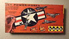 1959 Hawk Jet-Power Korea 5 Air Force And Navy Fighters Kit 623-50 1/72 Scale