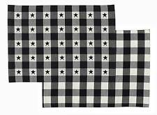 """Table Runner 54"""" L - Checkerboard Star by Park Designs - Kitchen Dining"""