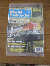 MODEL RAILROADER OCT 1996 EXPLORE THE HO SCALE RATON DIVISION, Prize Winning '96