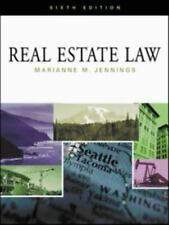 Real Estate Law by Jennings, Marianne M.