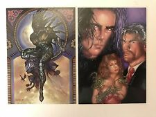 PROMO CARDS: TOP COW: THE PAINTED COW Comic Images: 2 DIFFERENT #1 & #2 of 2