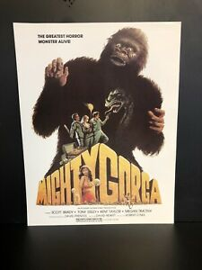 The Mighty Gorga Movie Promotion Press Page