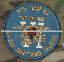 OFFICIAL SEAL-TEAM-6 ST6 Justices Done 5-2-2011 Osama bin Laden أسامة بن لادن  a