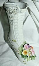 Estate:Porcelain Bisque Replica High Heel Shoe 1970 by Lefton Kw4740 Look