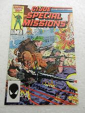 G.I. Joe Special Missions #2 1986 Cobra VF+ Marvel Comics