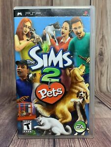 Sims 2: Pets (Sony PSP, 2006) Tested & Works