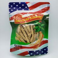 4oz Grade A 100% Hand Selected American Ginseng Long Root Ginseng Root 美国花旗参