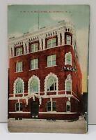 Elizabeth NJ, YMCA Building Vintage Postcard B5