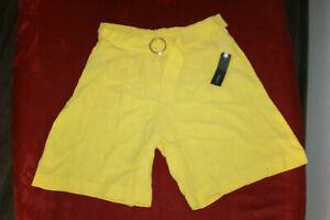 Esprit Shorts gelb Gr. S ~ 36 - NEU ETIKETT - Sommer Hose Freizeit Business