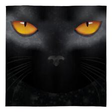 Halloween Warm Sofa Fleece Throw Blanket Black Cat Eyes Bed Blanket Soft Chair