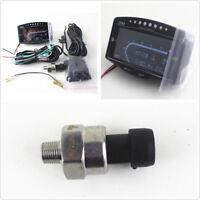 Car 12V/24V LCD Digital Oil Pressure/Voltmeter/Water Temp/Fuel Gauge Tachometer
