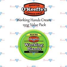 O'keeffe 's manos Mano Crema Para Seco en funcionamiento Grasiento Piel Agrietada 193g Pack Ahorro