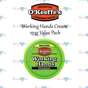 O'Keeffe's Working Hands Hand Cream Dry Cracked Skin Okeeffe 193g VALUE PACK