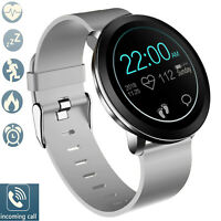 Bluetooth Wrist Smart Watch Heart Rate Monitor For Android iPhone LG G6 G7 Moto