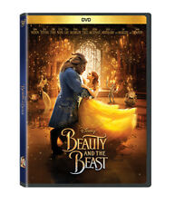 New Beauty and the Beast (DVD 2017) Live Version Emma Watson- FREE Shipping!