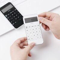 Student Mini Electronic Digit Solar Calculator Simple School Supplies