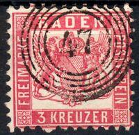 Baden Mi.-Nr.18o - 47 Geisingen, Luxus