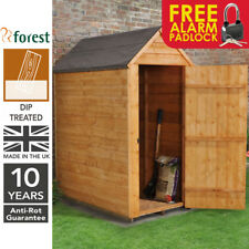 Forest 3x5 Windowless Dip Treated Apex Garden Tool Store Shed Free Padlock