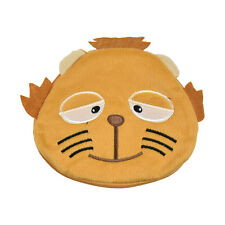 Cute Orange Cat Plush Portable CD DVD Case Bag Holder Fun 20 Disc Holder