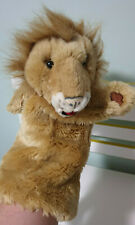LION HAND PUPPET The Puppet Co Company long sleeved Puppet Lion 35CM