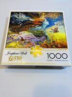 Josephine Wall Glitter Puzzle 1000 Piece Spirit Of Flight Buffalo