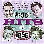 The Greatest Hits of 1955, Various Artists, Audio CD, New, FREE & Fast Delivery