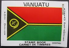 Vanuatu 1980 Flag Cover. Map Stamps in English & French. SG SB2. MNH.