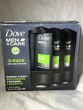 Dove Men + Care Body and Face Wash Clean Comfort 18 oz 3 PACK