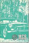 MG MGB (Us) Owner Hndbk: Owners' Handbook by Brooklands Books Ltd (English) Pape