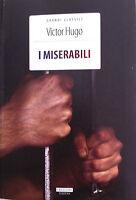 I Miserabili Victor Hugo Versione Integrale Crescere Edizioni LIBRO Nuovo