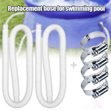 1/2pcs Above Ground Pools 1.25 Inch Diameter Pool Pump Accessory 59 Inch Long