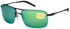 Costa Del Mar Skimmer Sunglasses SKM-11-OGMP Black | Geen Mirror 580P Polarized