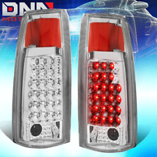 FOR 88-98 C/K C10 GMT400 1500/2500/3500 CHEYENNE CHROME CLEAR LED TAIL LIGHT