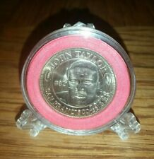 1994 SAN FRANCISCO 49ERS THEN AND NOW JOHN TAYLOR COIN W DISPLAY STAND! NM/MINT!
