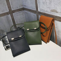Women PU Leather Mobile Phone Bag Cross Body Purse Small Shoulder Bag Messenger