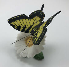 Franklin Mint Butterflies Of The World 1985 Tiger Swallowtail and Daisy