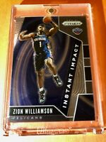 Zion Williamson PANINI PRIZM HOT ROOKIE 2019-20 INSTANT IMPACT RC #2 - Mint