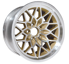 TRANS AM 15X8 SNOWFLAKE WHEEL GOLD WS6 NEW FITS MOST 1967 - 1992 GM CARS-SINGLE