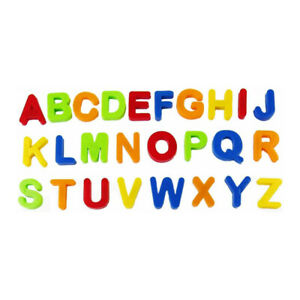 A to Z Magnetic Capital Alphabet Letters Fridge Magnets Toys Kids Learning 26pcs