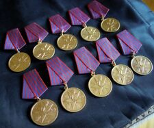 Medal for the Merit for the People - Yugoslavia - BIG LOT - 10 pcs